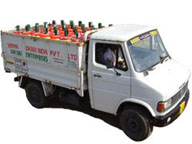 Verma Group Trucks for Ammonia cylinders